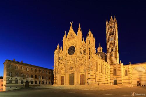 Duomo di Siena at Night
