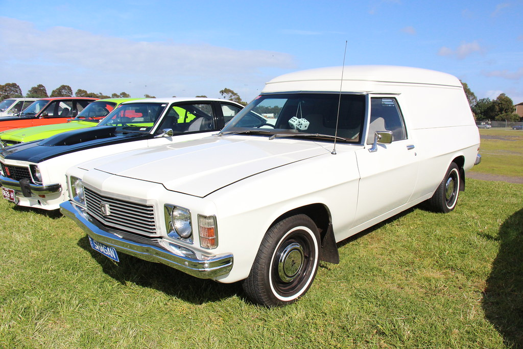 1975 Holden HJ Belmont Panel Van | The HJ Holden was built ...