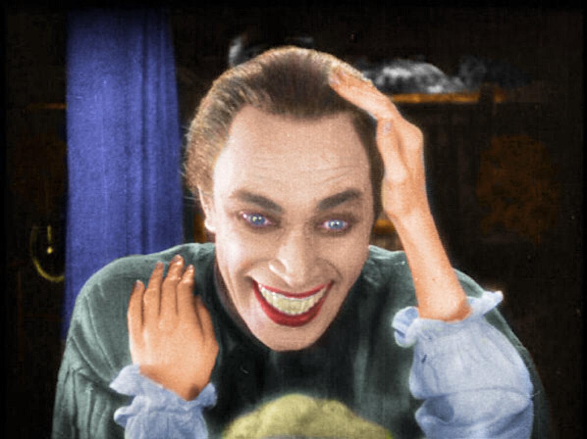 Conrad Veidt laugh