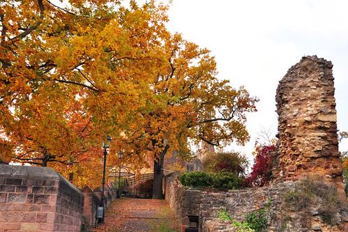 Mittelalterliches Bergdorf Neuleiningen « Brigitte Stolle