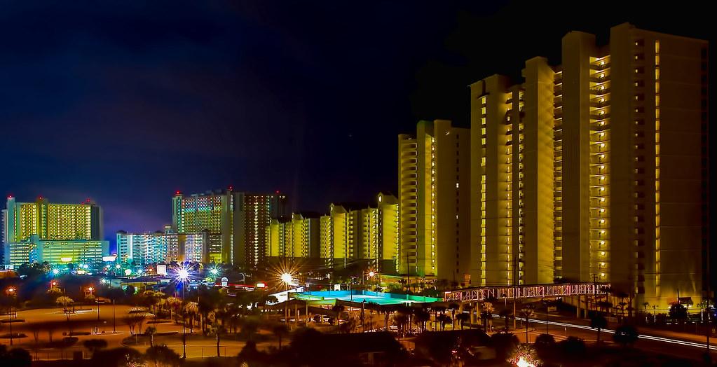The Skyline Of Panama City Beach Florida U S A Panama