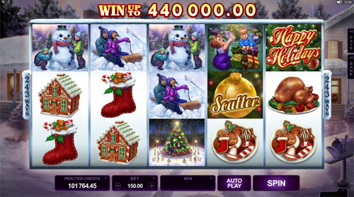 Happy Holidays Slot Machine