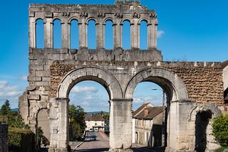 Porte d'Arroux - Stadttor der römischen Stadt Augustodunum