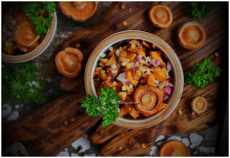 ...mushroom salad_