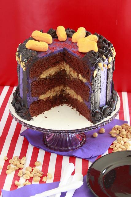 Gothic Circus Cake