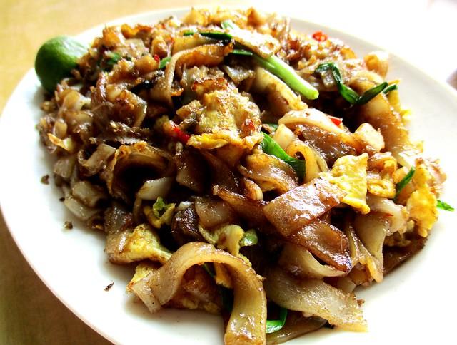 Jiali sambal fried kway teow