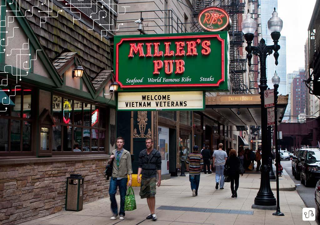 Miller's Pub : tradicionais costelas americanas para menores de 21