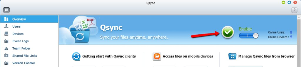 Qsync Is Not Enabled