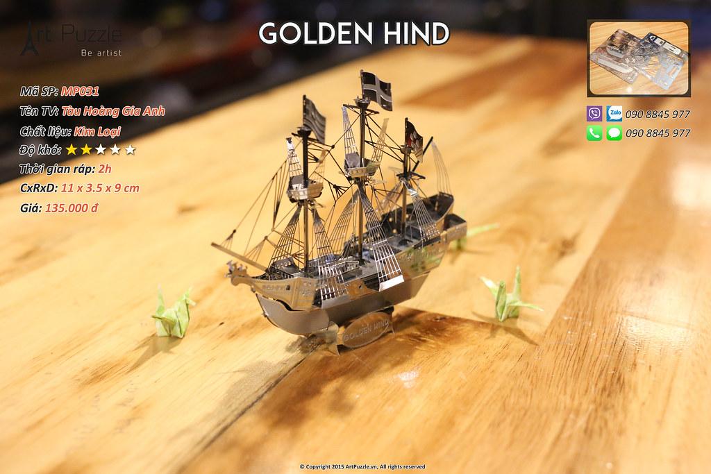 Art Puzzle - Chuyên mô hình kim loại (kiến trúc, tàu, xe tăng...) tinh tế và sắc sảo - 27
