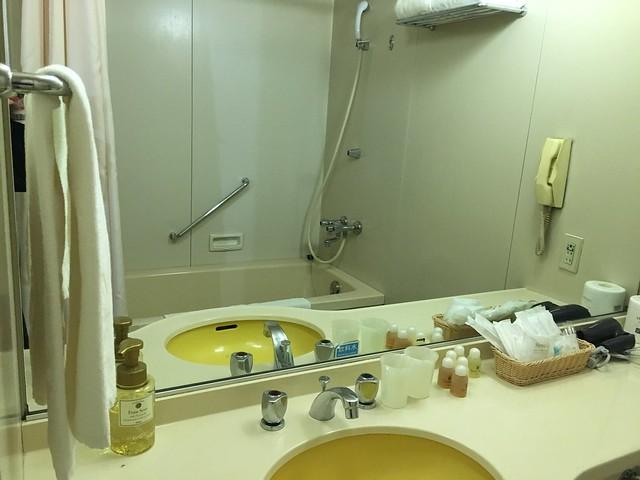 設備有點舊但是一應俱全唷@克里歐法庭博多飯店Clio Court Hakata Hotel, 日本九州福岡(FUKUOKA / HAKATA)