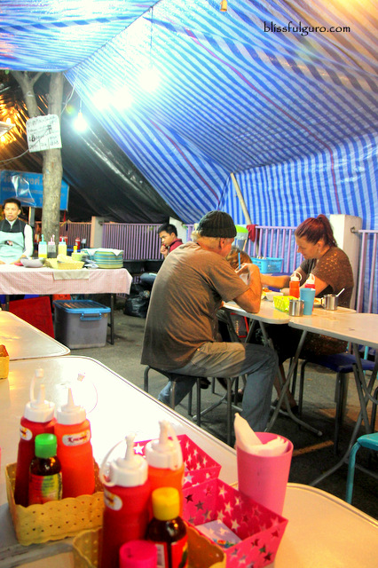 Suthep Road Chiang Mai University Hawker Stalls