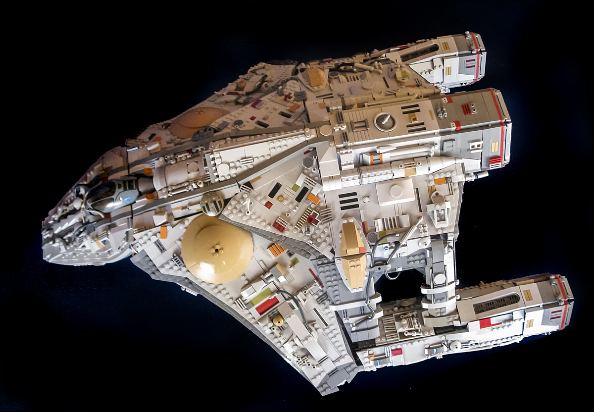 how to build a big lego spaceship