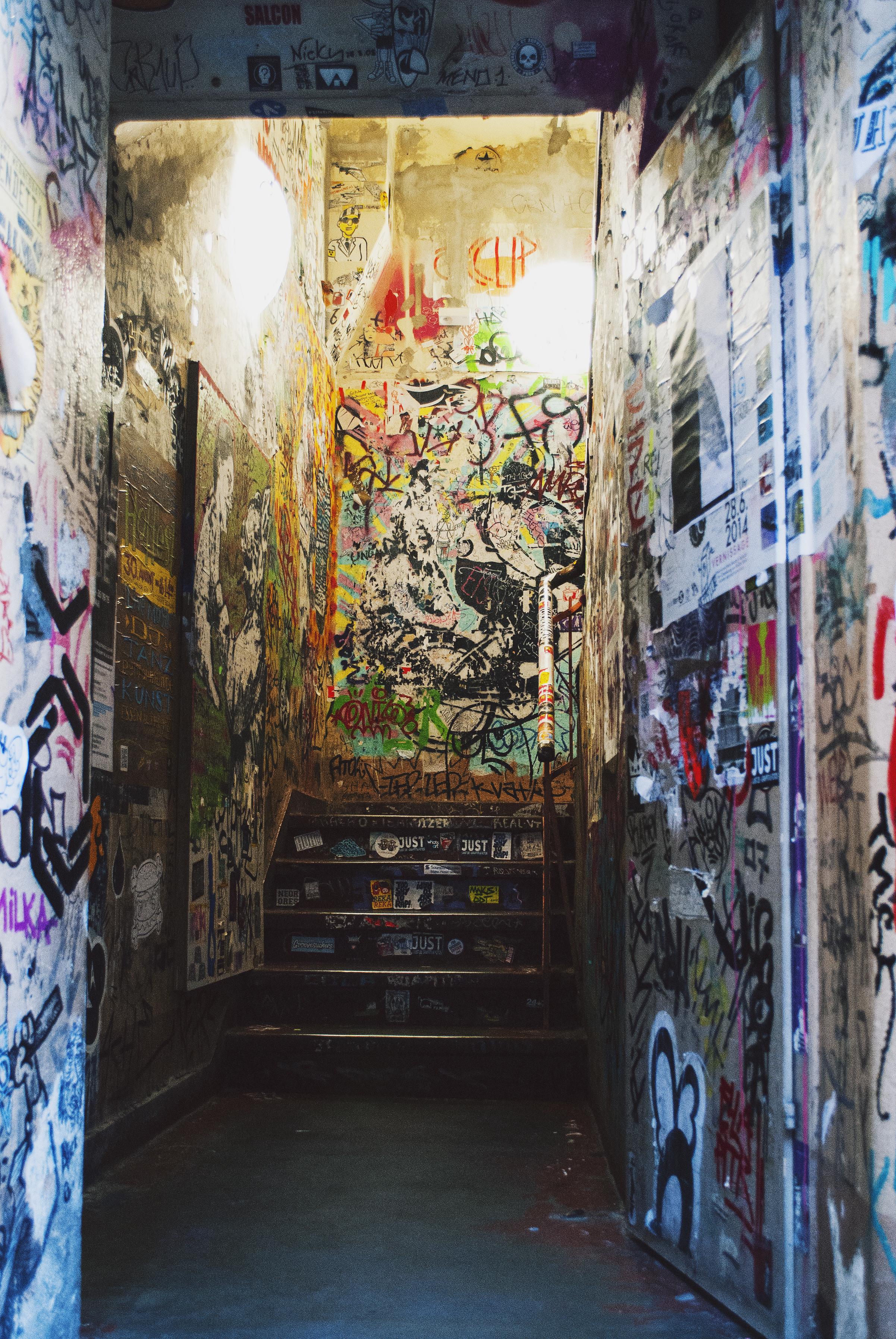 Berlin Travel Diary Cafe Cinema Street Art Graffiti