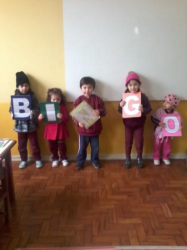 Aula de Inglês (Infantil - manhã)