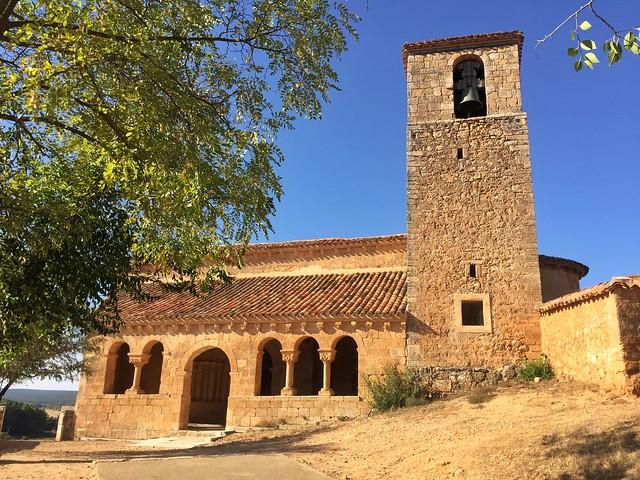 Iglesia de Aguilera (Tierras de Berlanga, Soria)