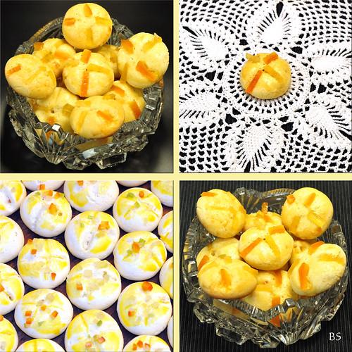 Weihnachtsbäckerei ... Pomeranzenbrötchen ... Zitronat, Orangeat ... Lieblingsrezepte Brigitte Stolle