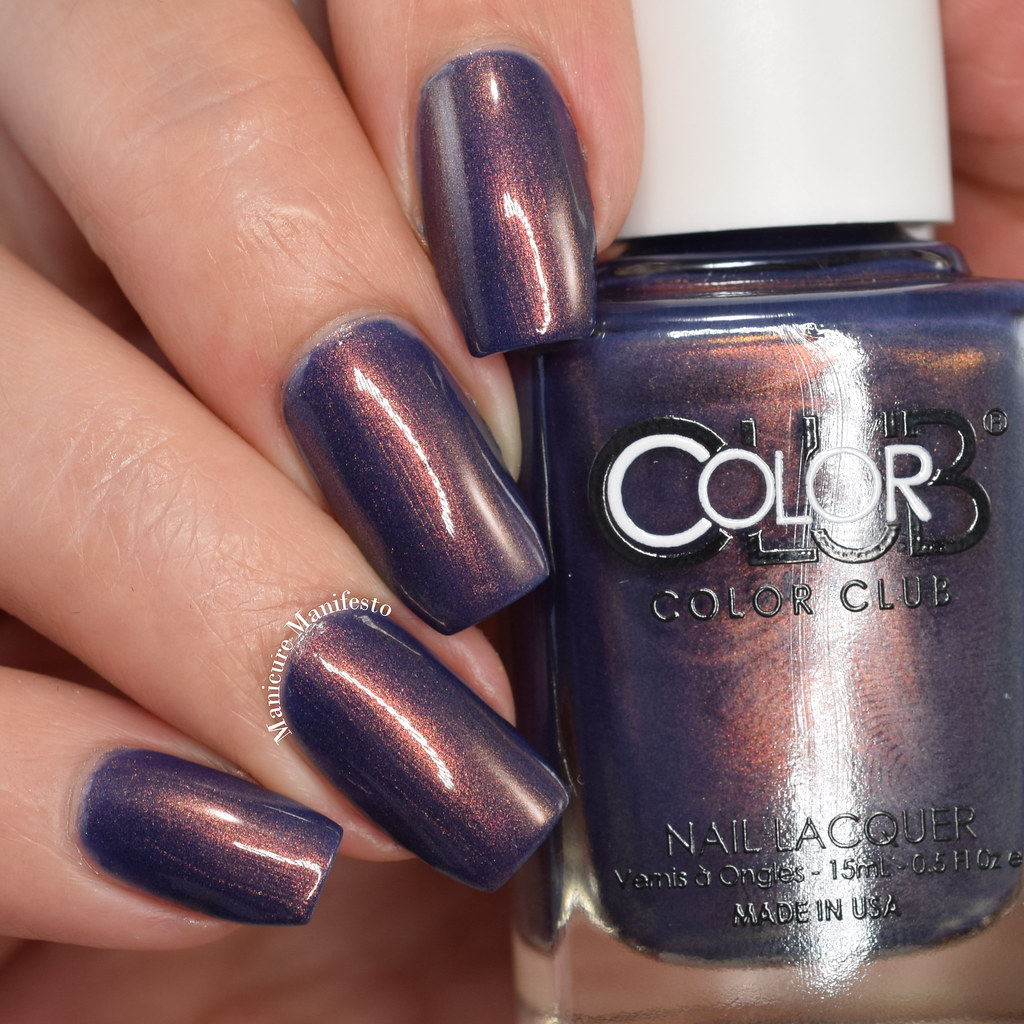 Color Club Midnight Muse collection swatches