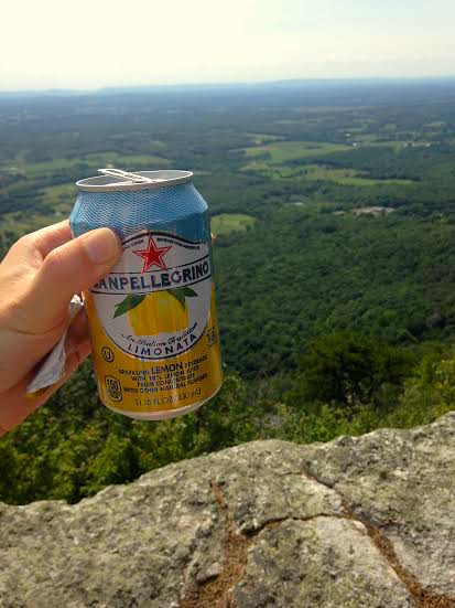 Pellegrino at the top