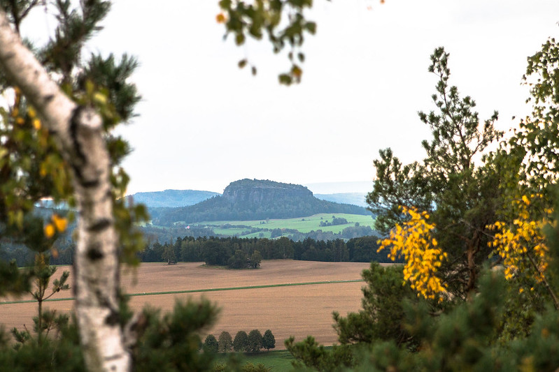 a view in saxon switzerland