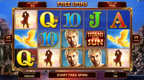 Titans of the Sun - Hyperion Slots Free Spins