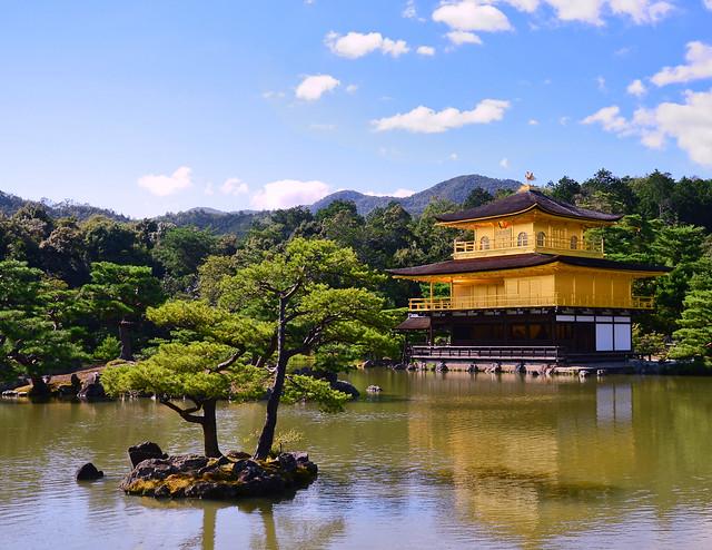 Templo dorado de Kioto
