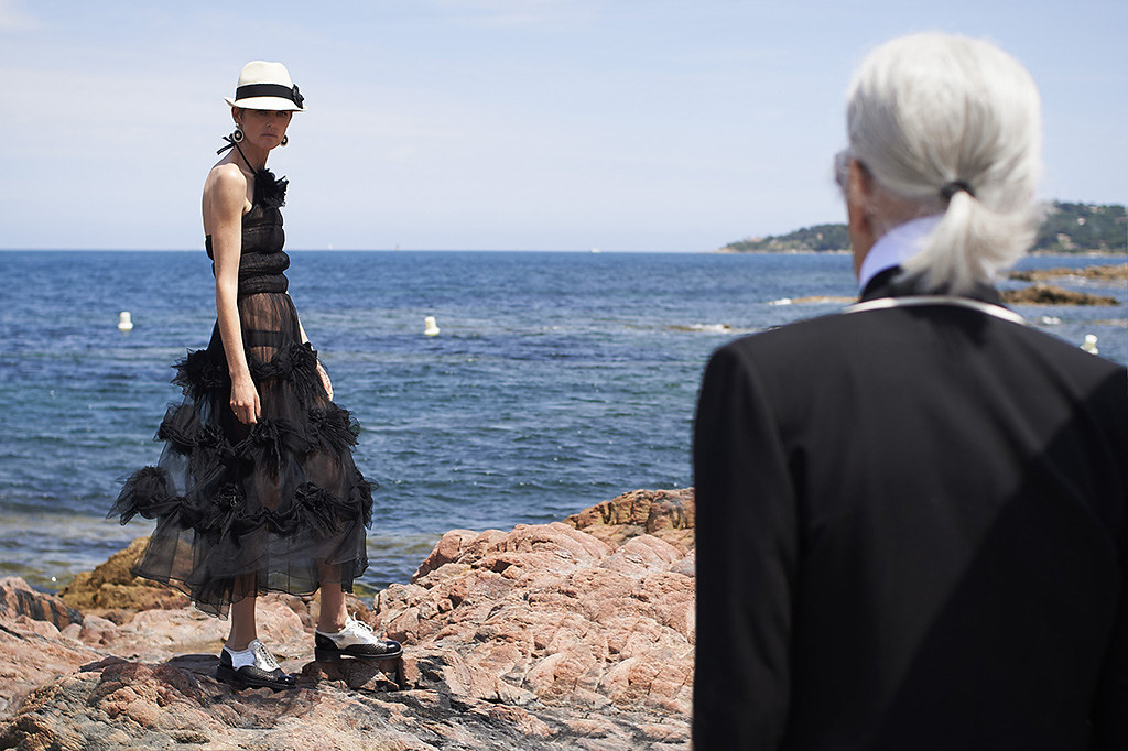 Chanel Cruise Ad Campaign Making Of Pictures
