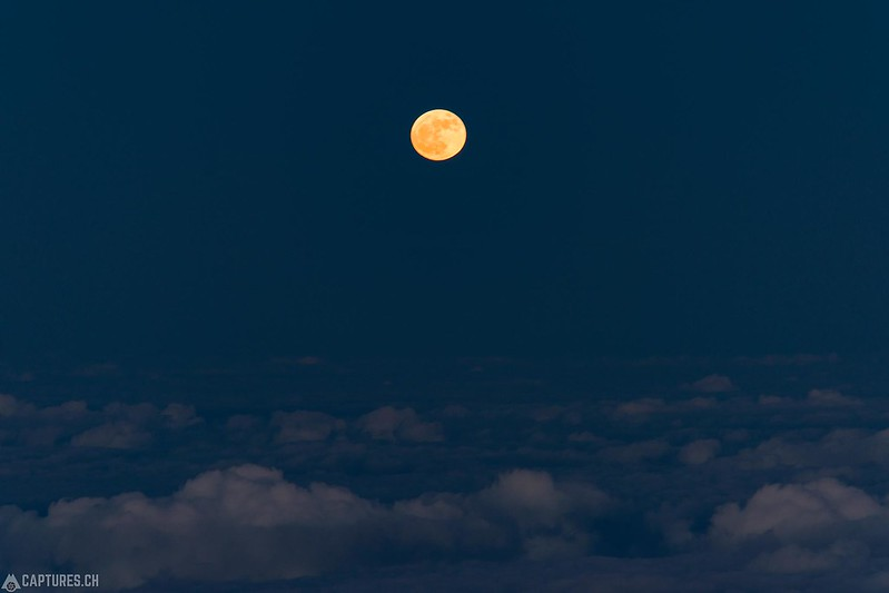 Super moon - Big Island