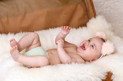 赤ちゃん 肌