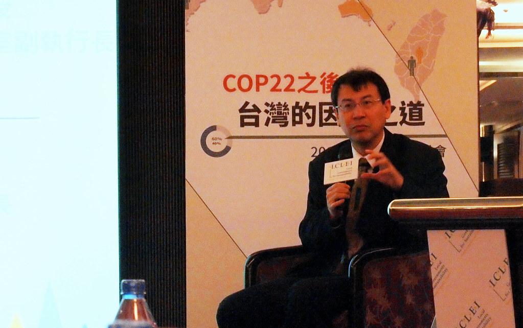 林子倫認為,應盤點國內氣候科學資料,並將資料釋放給地方政府和民間進行產業應用和提供服務。攝影:李育琴