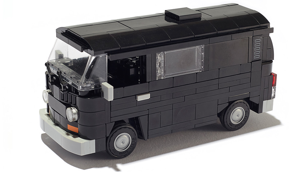 vw t2 bulli black bus van here is a version of my. Black Bedroom Furniture Sets. Home Design Ideas