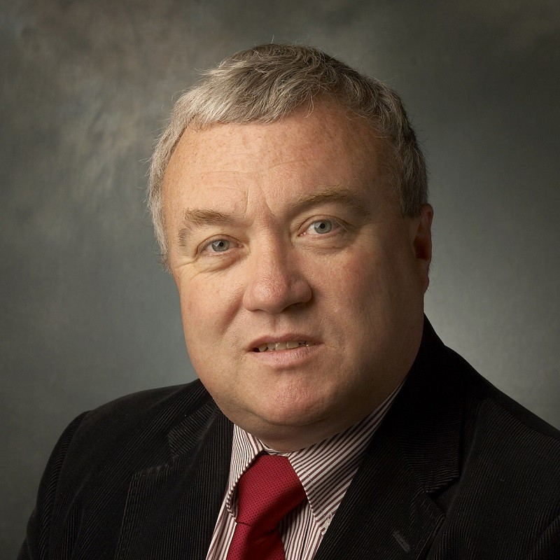 Professional portrait photograph of Professor Gary Hawley