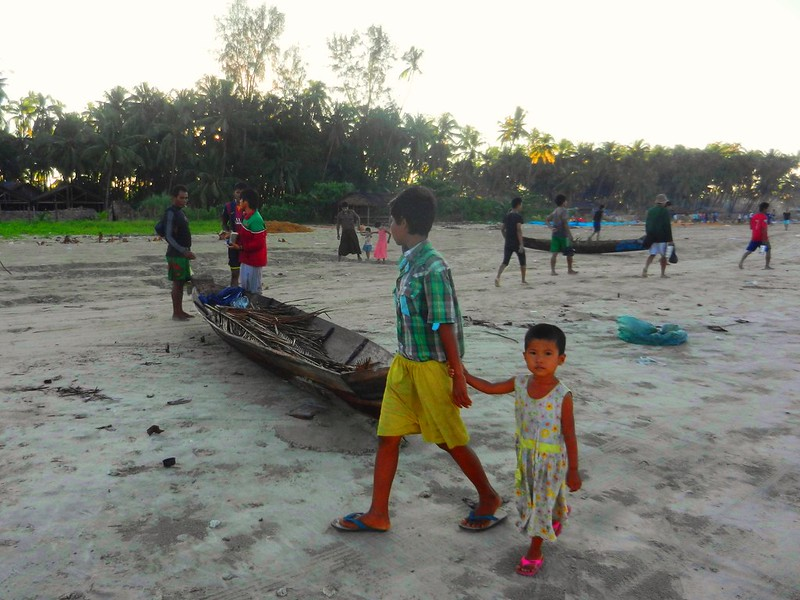 Мьянма, дети