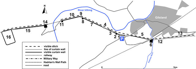 Gilsland car park plan