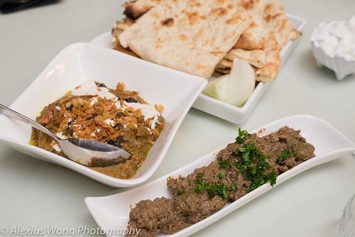 Zeytoon Parvarde & Kashka-o Badenjan/Olive Paste & Eggplant Dip