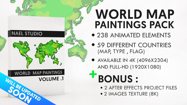 World map paintings pack by naelstudio videohive gumiabroncs Images