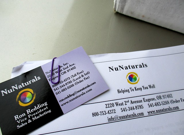 NuNaturals, the company
