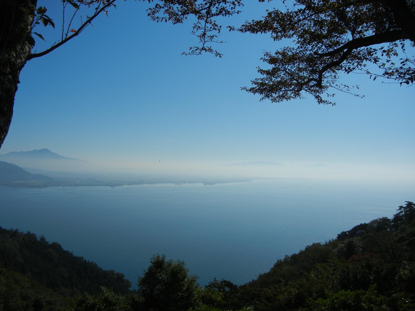 つづら尾崎展望台からの眺望