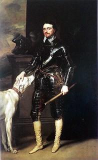 1639安東尼.范戴克 (Anthony van Dyck) 《溫特沃斯子爵》肖像。圖片來源:wikimedia。 public domain