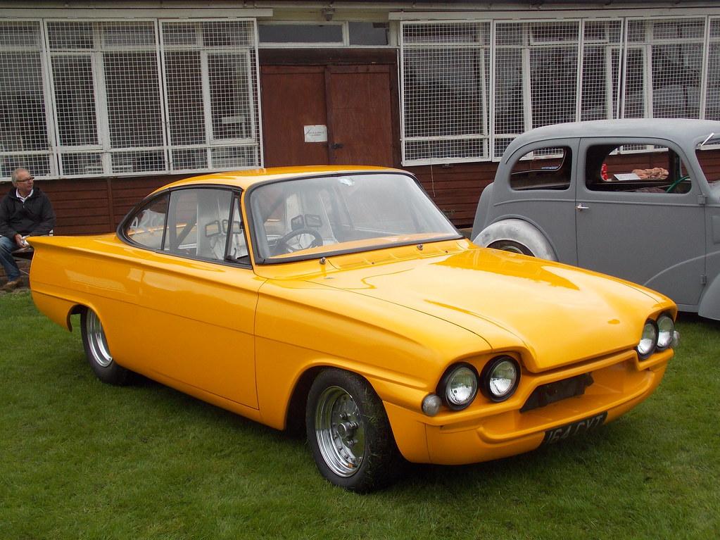 1962 ford consul capri pro street custom chelsfield car sh flickr