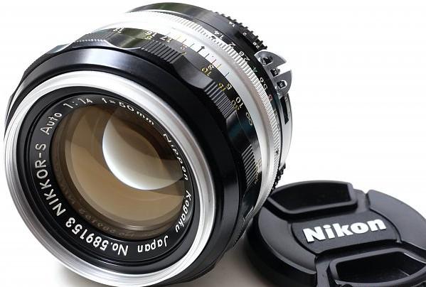 二手鏡頭 香港 . . . Nikon Nikkor-S 50mm 1.4 罕有新淨銀咀(更換原裝AI ) 全線 Nikon機都啱用   大光圈標頭   暗位極靚