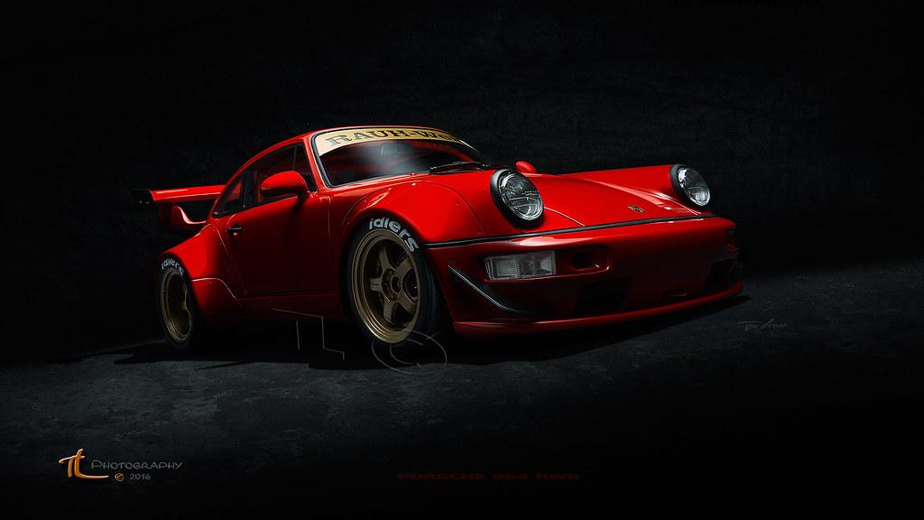 Porsche 964 Rwb Explore Porsche 964 Rwb Tjeu Flickr