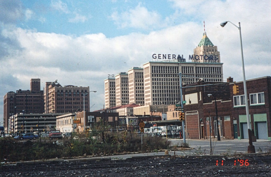 Detroit Michigan Formerly General Motors Office Building