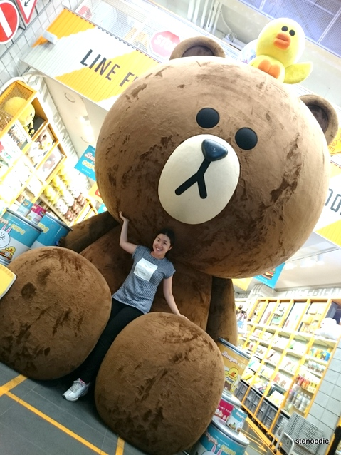 Line Friends giant teddy bear