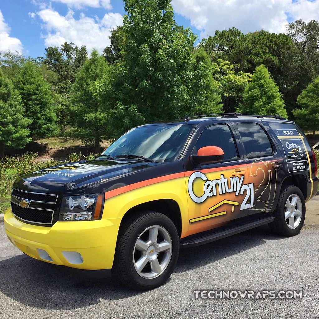 Real estate vehicle wrap by TechnoSigns in Orlando | Flickr