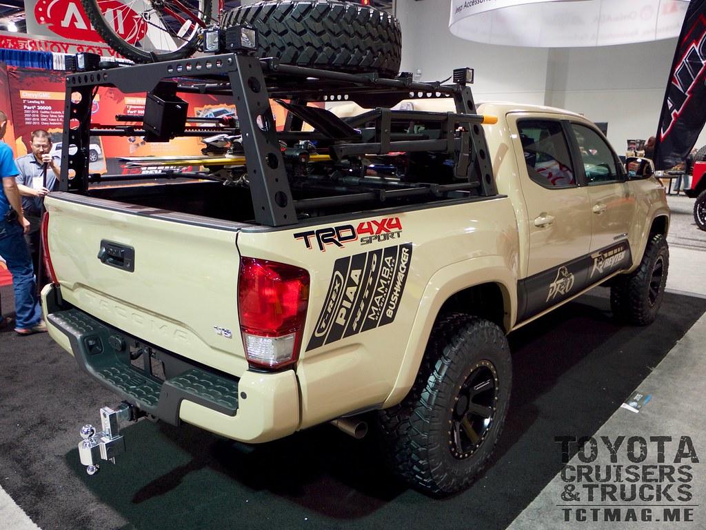 2016 Tacoma Bed Rack - SEMA 2015 Toyota