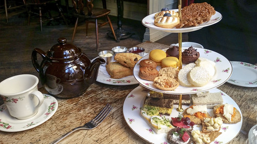 A Royal Occasion afternoon tea at Dandelion Pub
