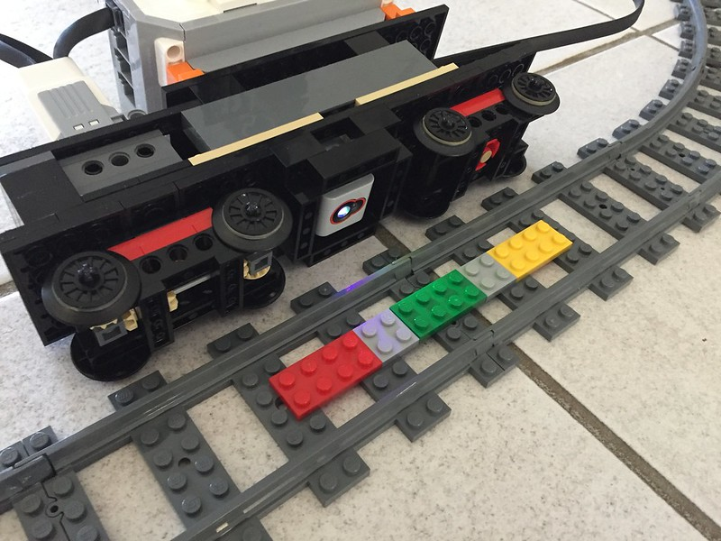 EV3]Train controlled by Mindstorms EV3 for large, fully