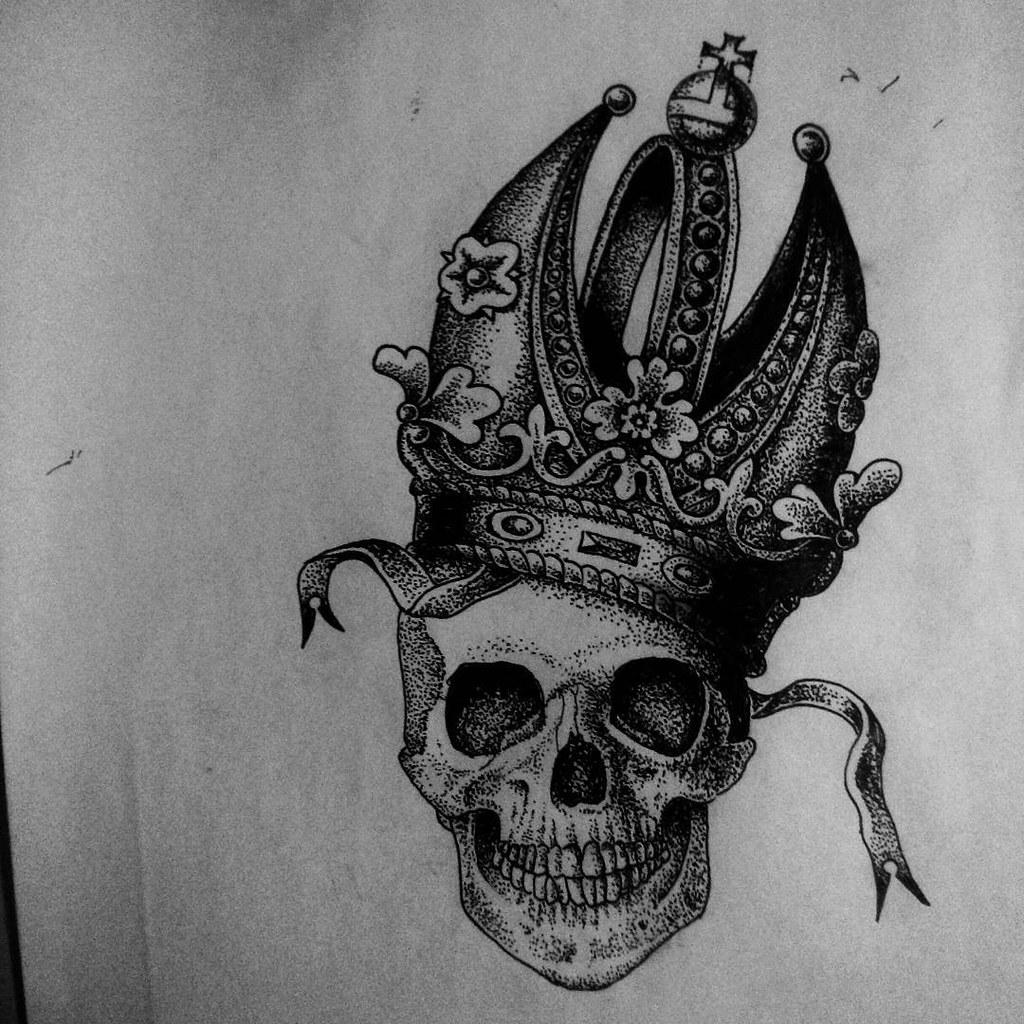 holy skull ���� drawings draw sketch design tattoodesi