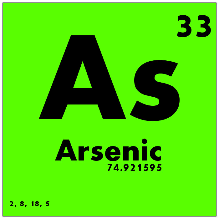 033 Arsenic - Periodic Table of Elements | Watch Study ...