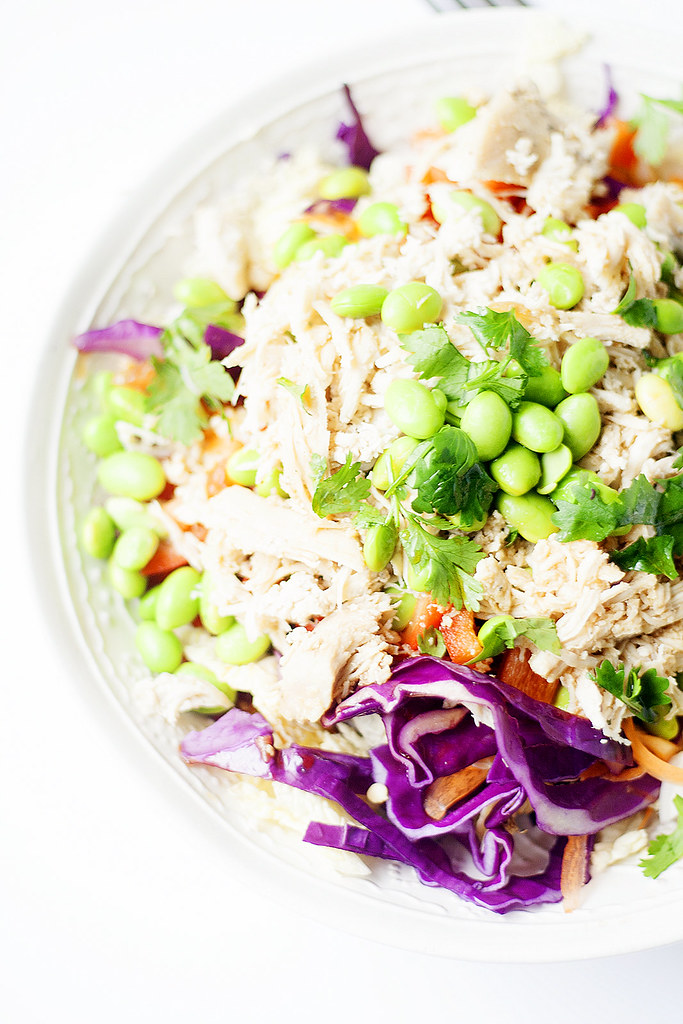 lightened up chinese chicken salad